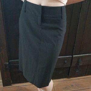 Express Pinstripe Pencil Skirt Sz 2